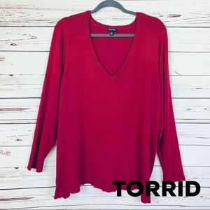 TORRID Pullover V-Neck Sweater